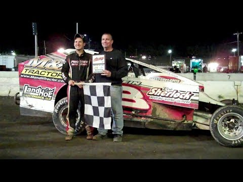Modifieds at Middletown 2017 - Danny Tyler Wins