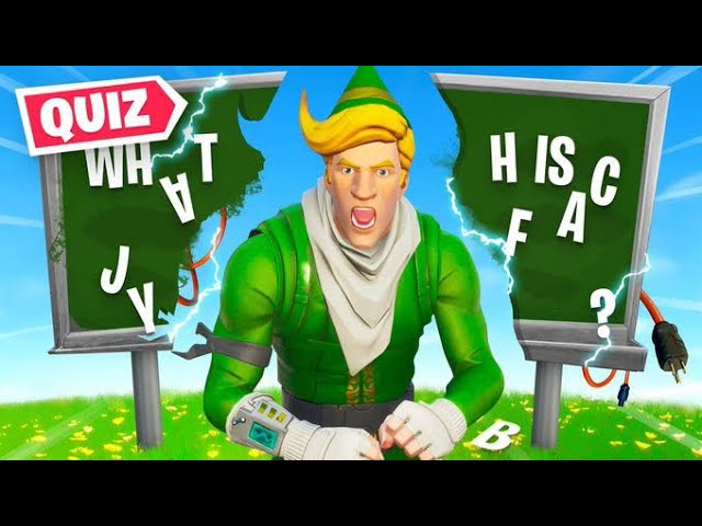 The Fortnite Quiz *RAGE* Edition!