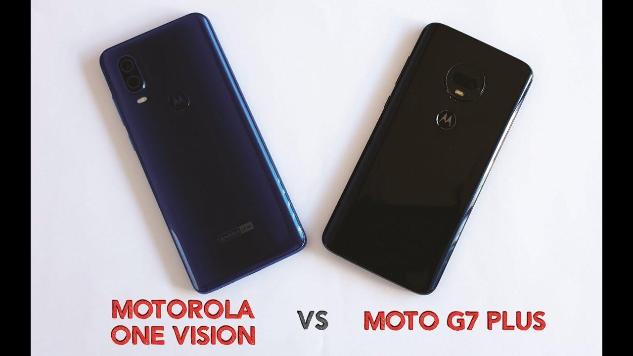 Motorola One Vision vs Moto G7 Plus in AnTuTu Benchmark performance test
