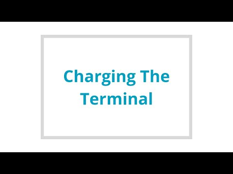 Charging the terminal