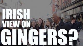 How The IRISH View Gingers? - The Yafa Show - Dublin