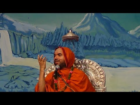 Ashirvachanam by Shri Shri Raghaveshwara Bharathi Mahaswamiji - 1