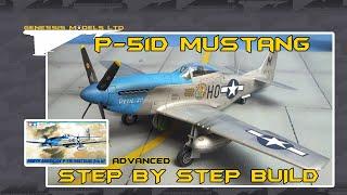 Tamiya : P-51D Mustang : 1/48 Scale : Rapid Video Build : Episode.1