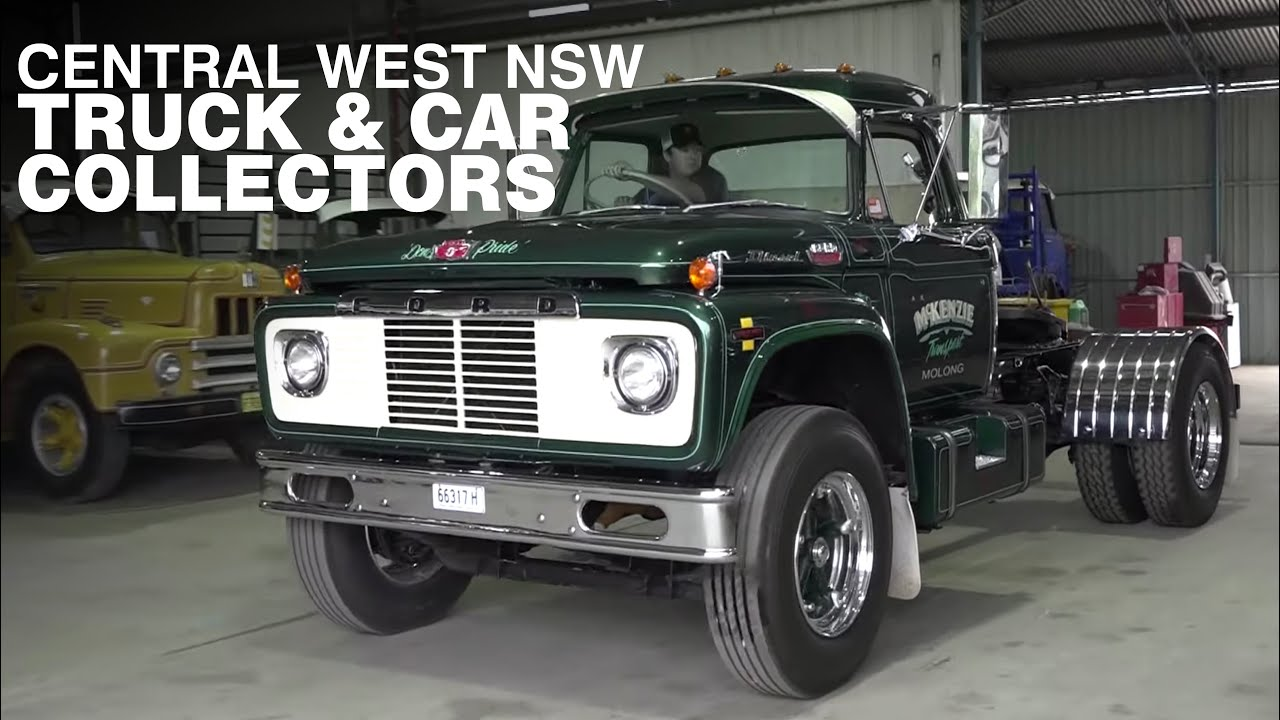 Truck & Car Collectors from the Central West NSW: Classic Restos - Series 45