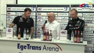 Pressekonferenz nach der Partie SG BBM Bietigheim vs. HC Erlangen
