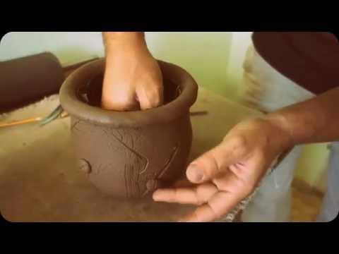 Глиняный горшок сделать самому