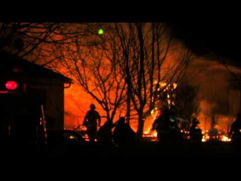 House Fire on Ocean Drive, Saint John, NB