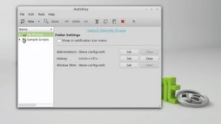 Autokey : Automate Typing Text, Phrases and Scripts in Linux Mint