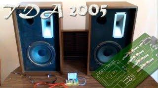 Amplificador casero TDA2005, monta el tuyo!