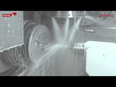 Complete machining of Turbine and Aero Engine Blades with Starrag LX021