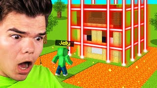 BREAKING Into EVIL JELLY'S MINECRAFT BASE! (*INSANE SECURITY*)