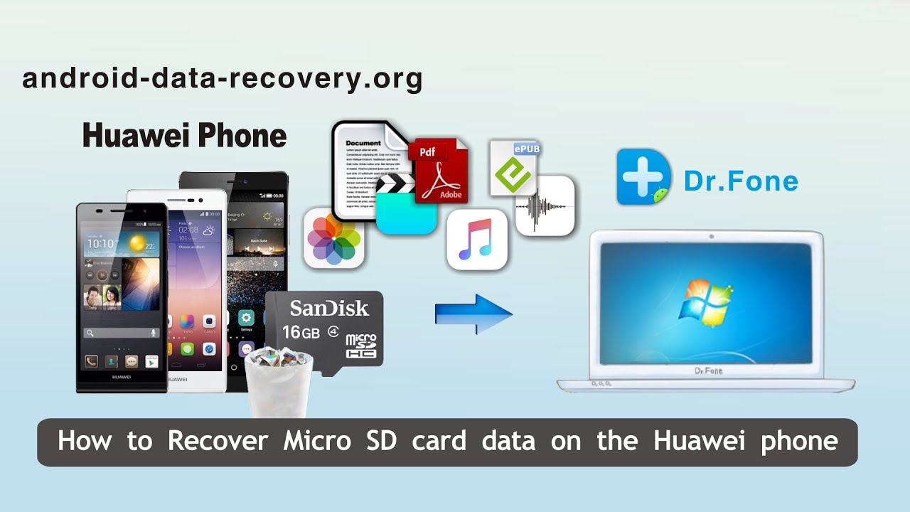 How to Recover Micro SD card data on the Huawei phone by SD Card Data  Recovery