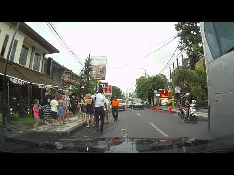 Tourist hits accident in Bali