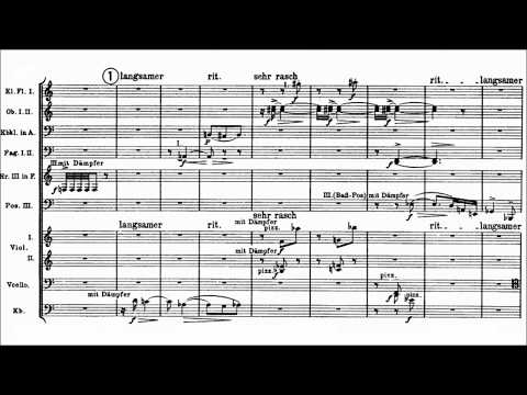 Arnold Schoenberg - 5 Orchestral Pieces Op. 16 (1909)