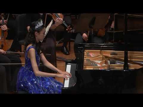 Alice Zilin Zhou (12) Concerto No.23 In A Major,K488 1st Mvt By Mozart