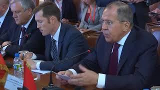 Встреча С.Лаврова и М.Д.Аугушту