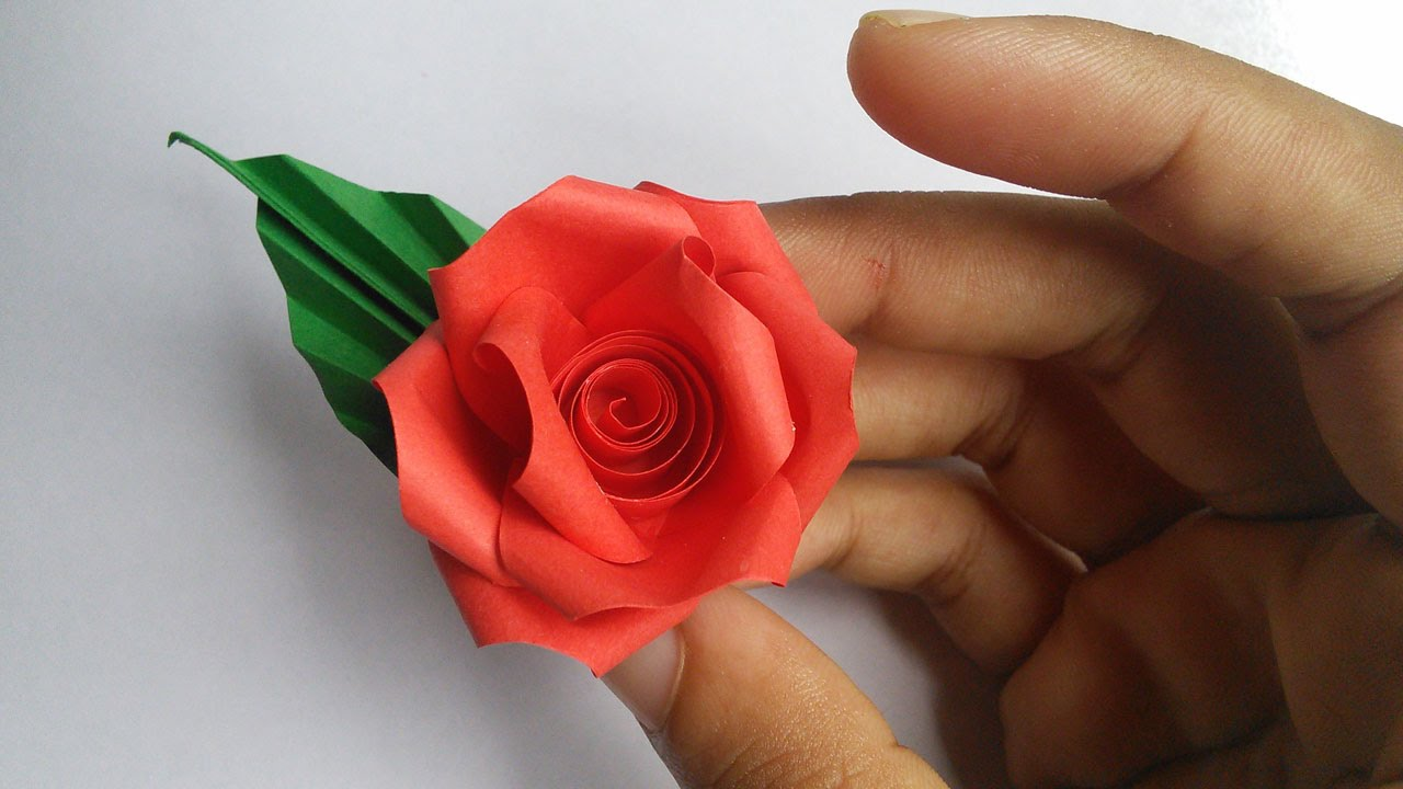 paper quilling flower rose new hand works 2015