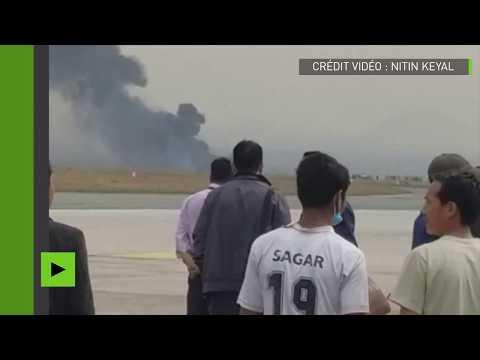 Népal : un avion avec 71 personnes à bord s'écrase près de l'aéroport de Katmandou