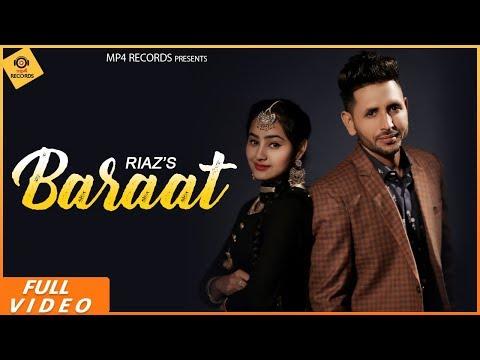 Riaz - Baraat (Full Video)   Jassi X    Latest Punjabi Songs 2019   Mp4 Records
