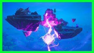 THE CUBE IS CRACKING! WHAT WILL HAPPEN! FORTNITE CUBE ISLAND LIVE EVENT!