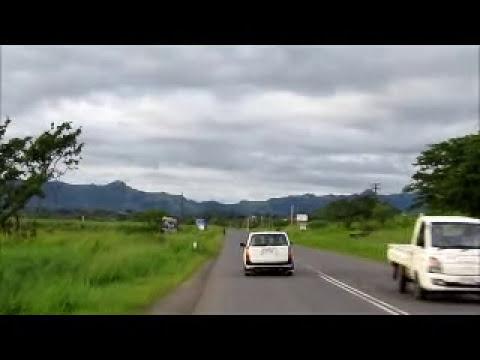 Driving in Fiji - Part 1 : Nadi
