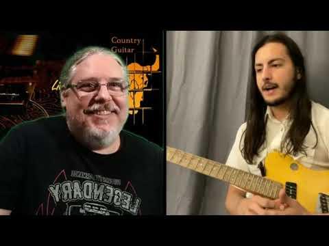 Country Guitar Br Entrevista  - Matheus Canteri - 15/04/21