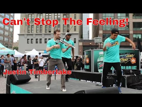 justin timberlake cant stop the feeling - dance