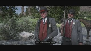 Red Dead Redemption 2 Stories: Agent Ross & Agent Milton (All Cutscenes)