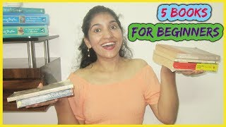 5 BOOKS TO READ IF YOU HATE READING!   FOR BEGINNERS  EASY READING NOVELS   SURBHI