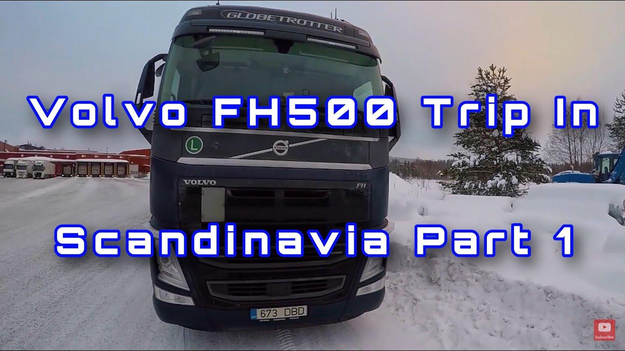 POV Driving Volvo FH500 In Scandinavia Part 1 (Estonia and Finland)
