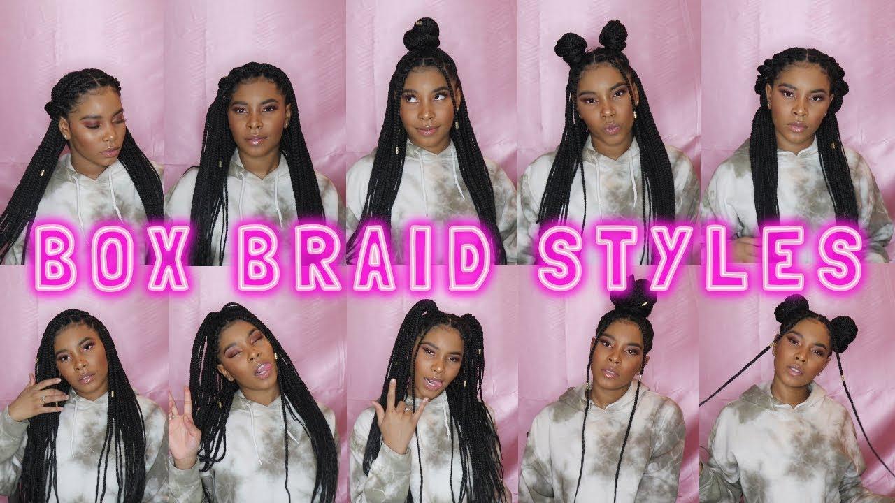 15 Knotless Box Braid Styles Marquita Sherice Youtube
