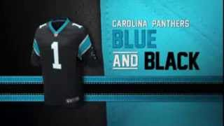Carolina Panthers uniform and uniform color history 2017 Video