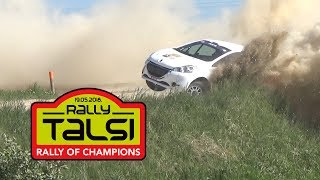 Rally Talsi 2018.(actions,mistakes and max attack)