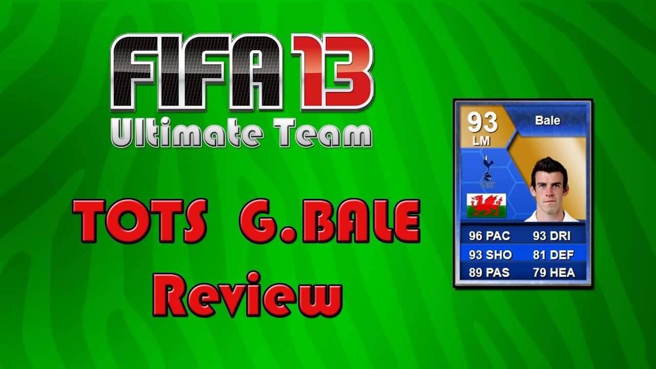 fifa 13 inform review 19 tots bale youtube. Black Bedroom Furniture Sets. Home Design Ideas