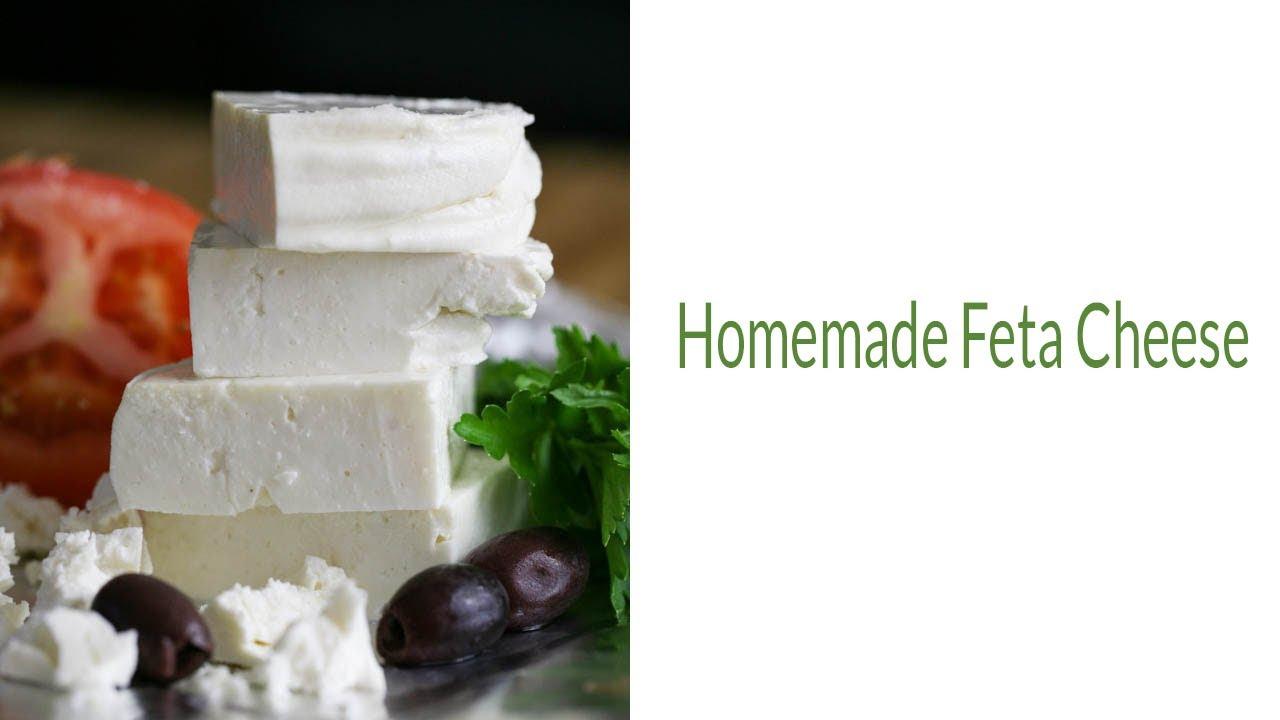Homemade Feta Cheese - YouTube