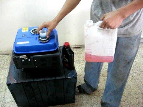 El bote con tapa hermética para la gasolina a 20 litros el precio