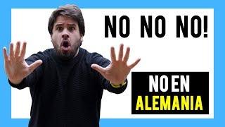 ALEMANIA 7 Cosas que no debes hacer NUNCA ⛔