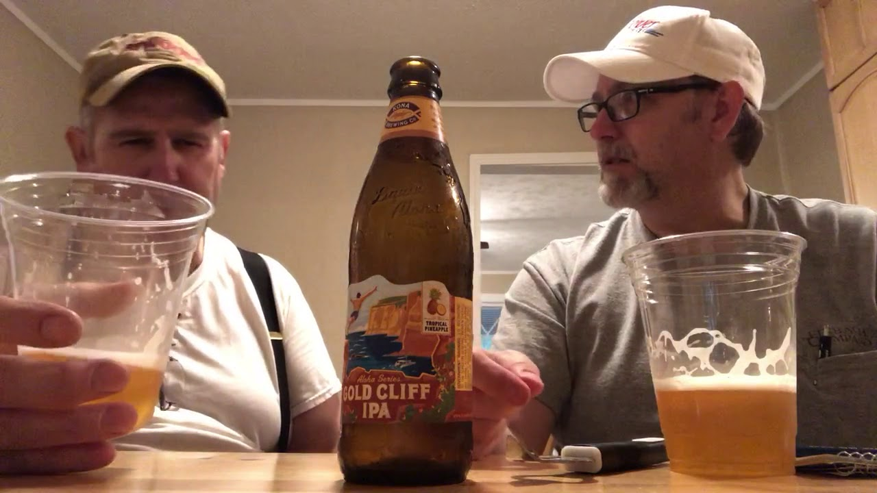 The Beer Review Guy #1115 Gold Cliff IPA 7 2%abv( with real tropical  Pineapple)
