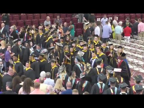Walsh University Spring Graduation 2017 LiveStream
