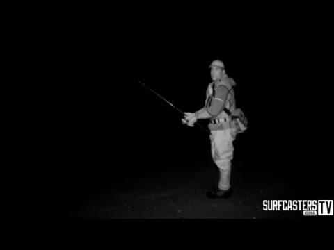 Surf Fishing 101 Episode # 10 Fishing At Night
