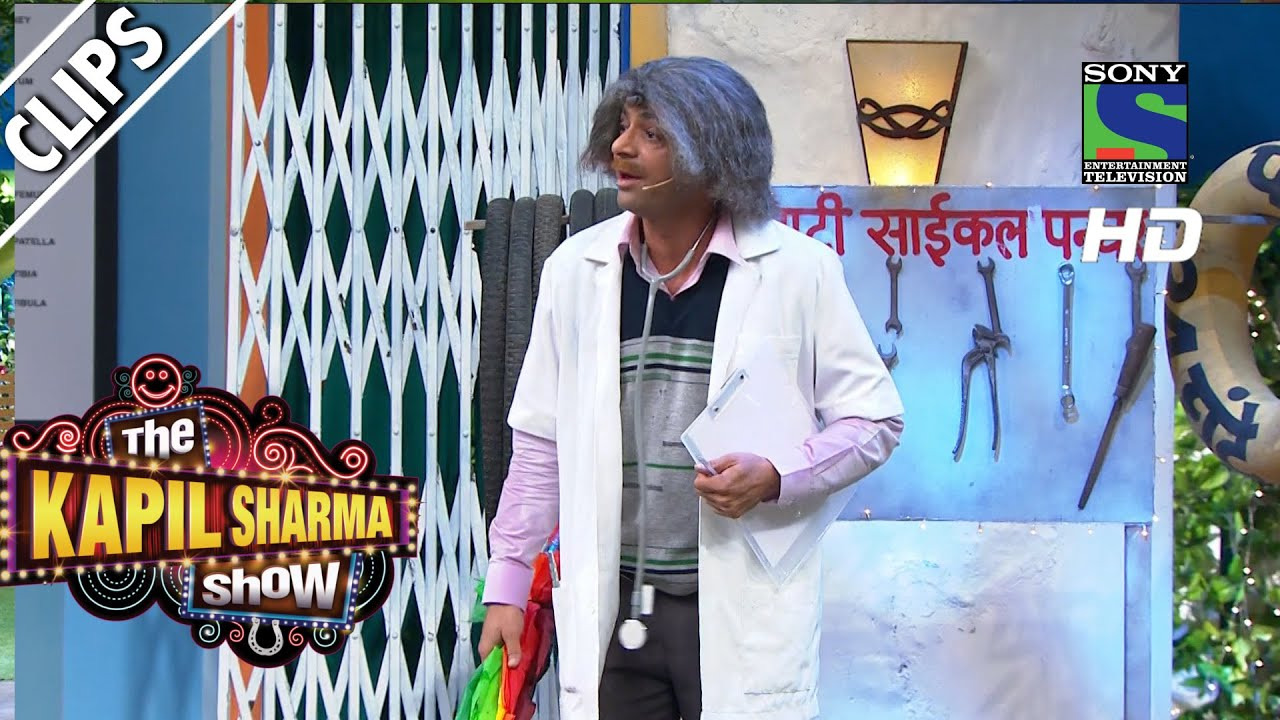 Dr  Mashoor Gulati's Umbrella - The Kapil Sharma Show -Episode 21 - 2nd  July 2016