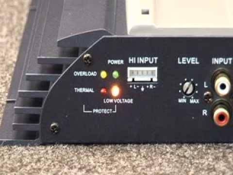 Car audio 101 amplifier troubleshooting