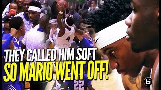 THEY CALLED HOODIE RIO SOFT!! Mario Mckinney Drops 30 Points in EPIC Comeback Against Charleston!