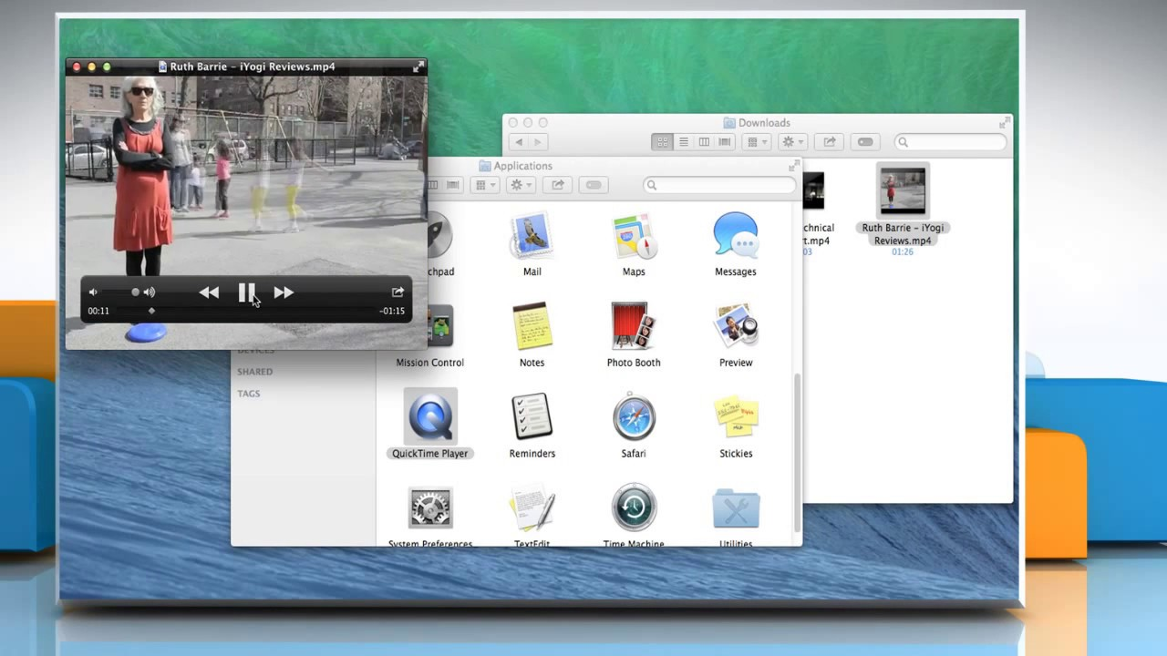 How to open and play movies or videos in QuickTime® Player 10 x on a Mac®  OS X™