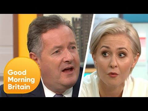 Piers Doesn't Understand Why People Don't Like Touching Raw Meat  Good Morning Britain