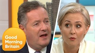 Piers Doesn't Understand Why People Don't Like Touching Raw Meat | Good Morning Britain