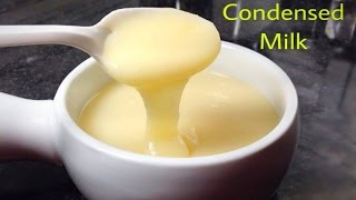 How To Make Homemade Condensed Milk Recipe - Made with Only 2 Ingredients