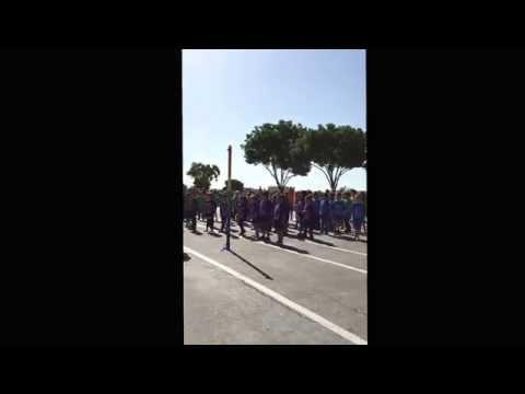 Von Renner School doing the Cha Cha Slide 552015