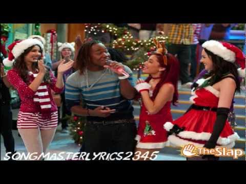 Victoria Justice feat. Victorious Cast - It's Not Christmas Without You (Lyrics)