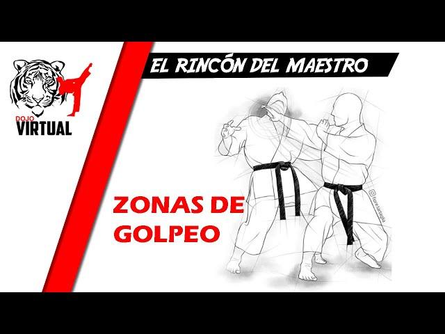 ZONAS DE GOLPEO  |  EL RINCÓN DEL MAESTRO